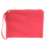 10003- CORAL COSMETIC POUCH