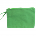 10003- LIME GREEN COSMETIC POUCH