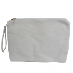 10003- WHITE COSMETIC POUCH