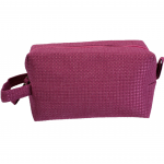 10006 - HOT PINK SQUARE COSMETIC POUCH