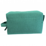 10006 - TURQUOISE SQUARE COSMETIC POUCH