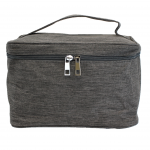 10007 - GREY SQUARE COSMETIC BAG