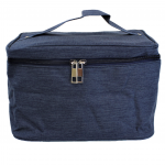 10007 - NAVY SQUARE COSMETIC BAG