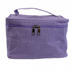 10007 - PURPLE SQUARE COSMETIC BAG