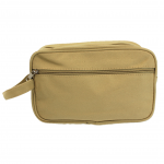 10011 - BEIGE CANVAS DOPP BAG