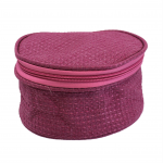 9267 - HOT PINK COSMETIC OR JEWELRY BAG