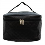 9269 - BLACK SOLID COSMETIC BAG