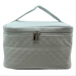 9269 - GREY SOLID COSMETIC BAG