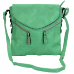 9034 - MINT PU LEATHER CROSS BODY/ SHOULDER BAG