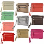 9039A - 10 PIECE CROSSBODY MESSENGER BAG (10 COLORS)