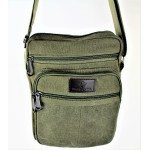 9254-GREEN SHOULDER MESSENGER BAG