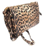 LE021-TANLEOPARD VEGAN LEATHER CROSSBODY BAG