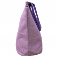10001- PURPLE AND GOLD CANVAS TOTE BAG