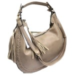5851-KHAKI VEGAN LEATHER PURSE