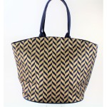 9201 - NAVY CANVAS TOTE BAG