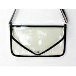 9167 - BLACK LINING TRANSPARENT CLUTCH BAG