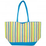 SW180599-MULTI STRIPES DESIGN INSULATED BAG