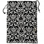 180575-DAMASK DESIGN LAUNDRY OR UTILITY BAG