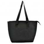10010 - BLACK INSULATED LUNCH BAG