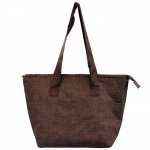 10010 - BROWN INSULATED LUNCH BAG