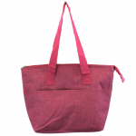 10010 - HOT PINK INSULATED LUNCH BAG