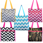180852- 5 COLORS- 5 PIECE SMALL SHOPPING TOTE BAG